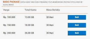 harga paket internet bolt basic package