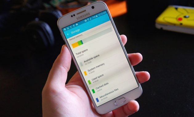 cara menghapus memori internal android