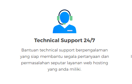Technical Support 24 x 7 Jam